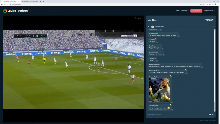LiveLike, WMT expand partnership with LaLiga for live watch parties